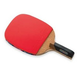 Butterfly Senkoh 2000 Penhold Table Tennis Racket with Rubber and Black Handle