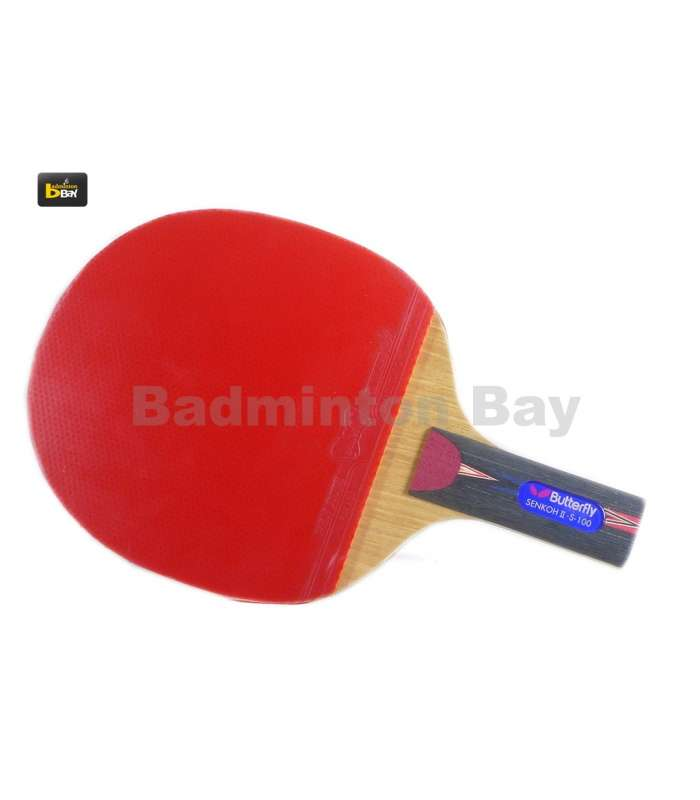 ~ Out of stock  Butterfly Senkoh II S-100 Penhold (Chinese) Table Tennis Racket