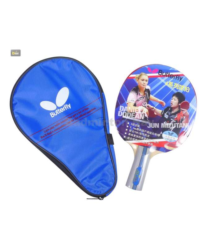 ~ Out of stock  Butterfly TBC 402 Yuki Rubber C-100 Penhold (Chinese) Table Tennis Racket
