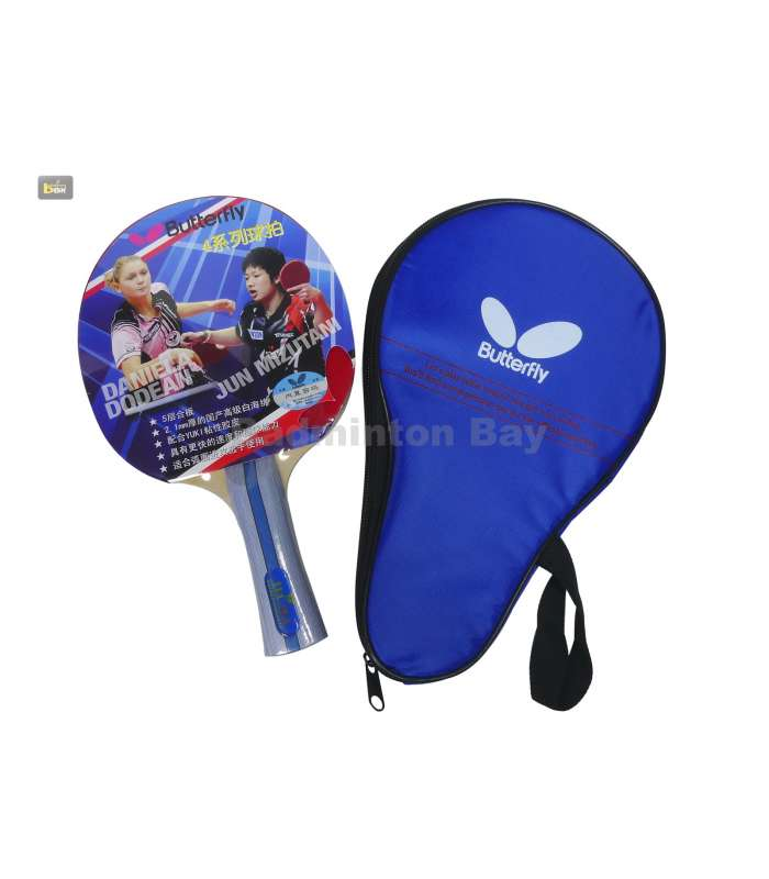 ~ Out of stock  Butterfly TBC 402 FL Yuki Rubber Shakehand Table Tennis Racket