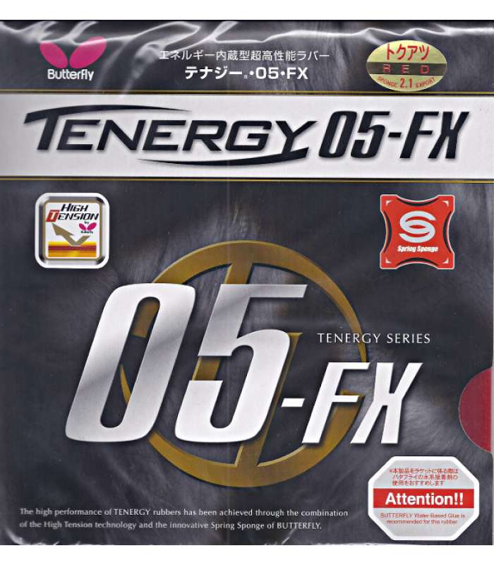 ~Out Of Stock Butterfly Tenergy 05-FX Table Tennis Rubber Sponge 2.1