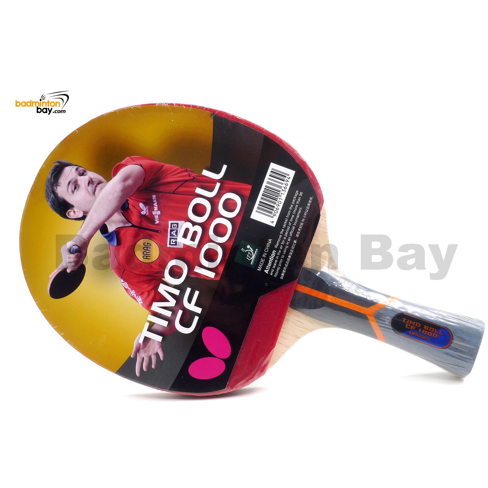 Butterfly Timo Boll Cf 1000 Fl Shakehand Table Tennis