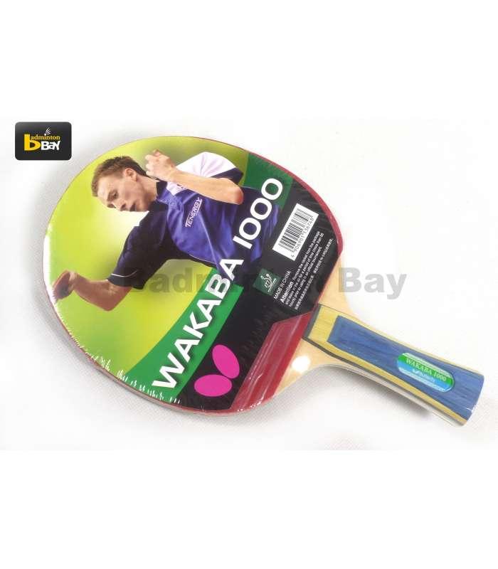 Butterfly Wakaba 1000 FL Shakehand Table Tennis Racket