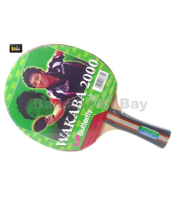 Butterfly Wakaba 2000 FL Shakehand Table Tennis Racket