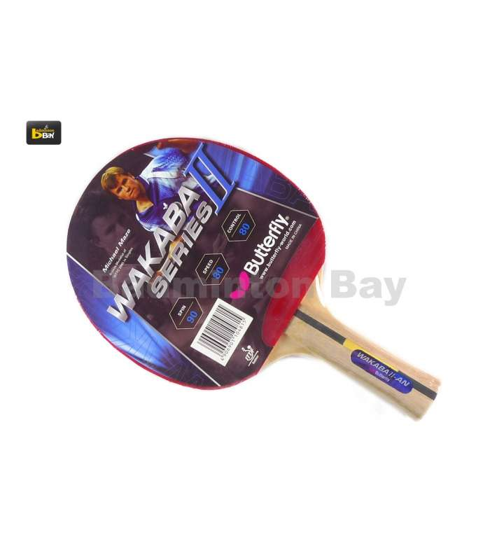 ~Out of Stock~ Butterfly Wakaba II AN Shakehand Table Tennis Racket