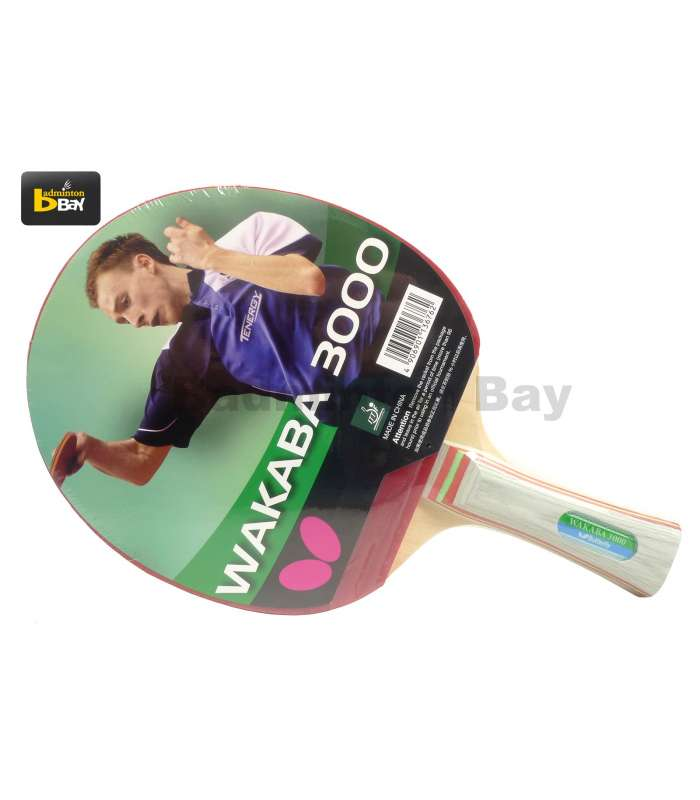 Butterfly Wakaba 3000 FL Shakehand Table Tennis Racket