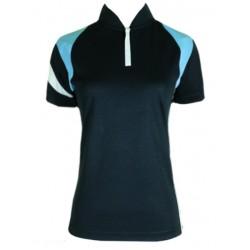 Fleet Ladies Collar Dri Fit FT LD 5007 Navy Blue T-Shirt Jersey