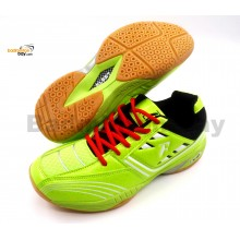 Fleet FT BS 877 Lime Green Badminton Court Shoes
