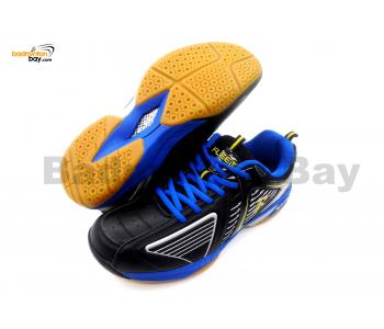 Fleet FT BS 906 Black Blue Badminton Court Shoes