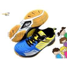 Fleet FT BS 29 Blue Yellow Badminton Court Shoes For KIDS