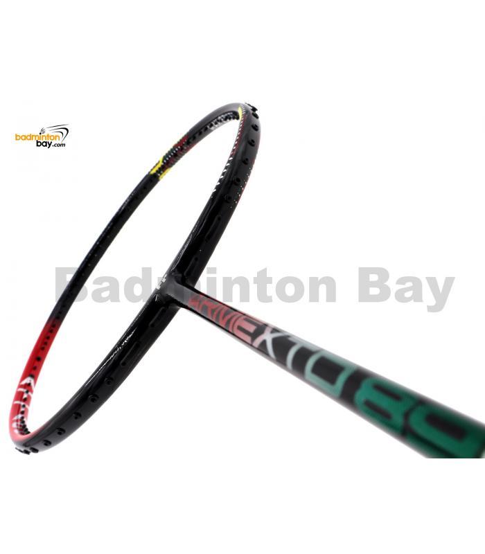20% OFF Fleet ArmexTD 89D Red Badminton Racket (4U) With Slight Paint Defect (Refer Picture)