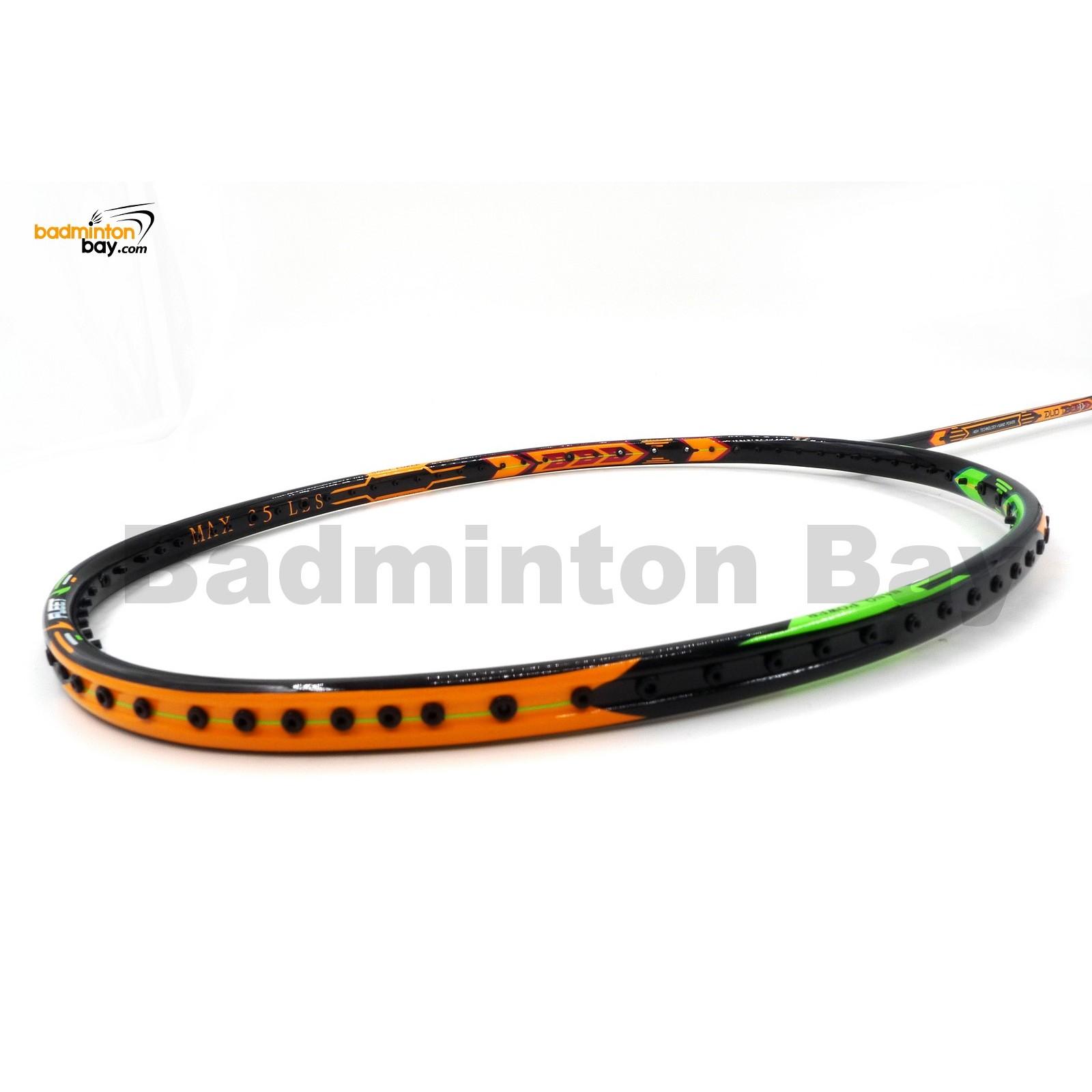 ~Out of stock Fleet Duo Tech 11 Orange Green Badminton ...