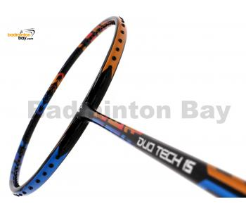 Fleet Duo Tech 15 Orange Blue Badminton Racket (3U)