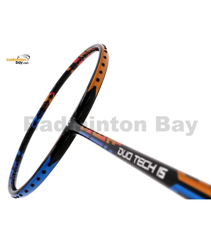 Fleet Duo Tech 15 Orange Blue Badminton Racket (4U)