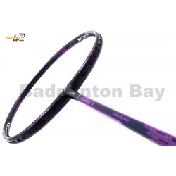 Fleet F Force III Black Purple Compact Frame Badminton Racket (4U)