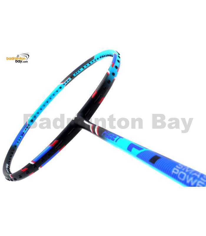 Fleet Smash Power Blue Badminton Racket (4U)