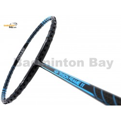 Fleet High Tension Frame 11 Metallic Black With Blue Stripes Badminton Racket (4U)
