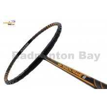 Fleet High Tension Frame 8 Black With Gold Stripes Badminton Racket (4U)