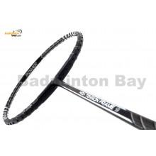 Fleet High Tension Frame 9 Black With Silver Stripes Badminton Racket (4U)
