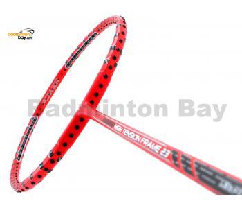 Felet High Tension Frame 23 Red With Black Stripes Badminton Racket (4U)
