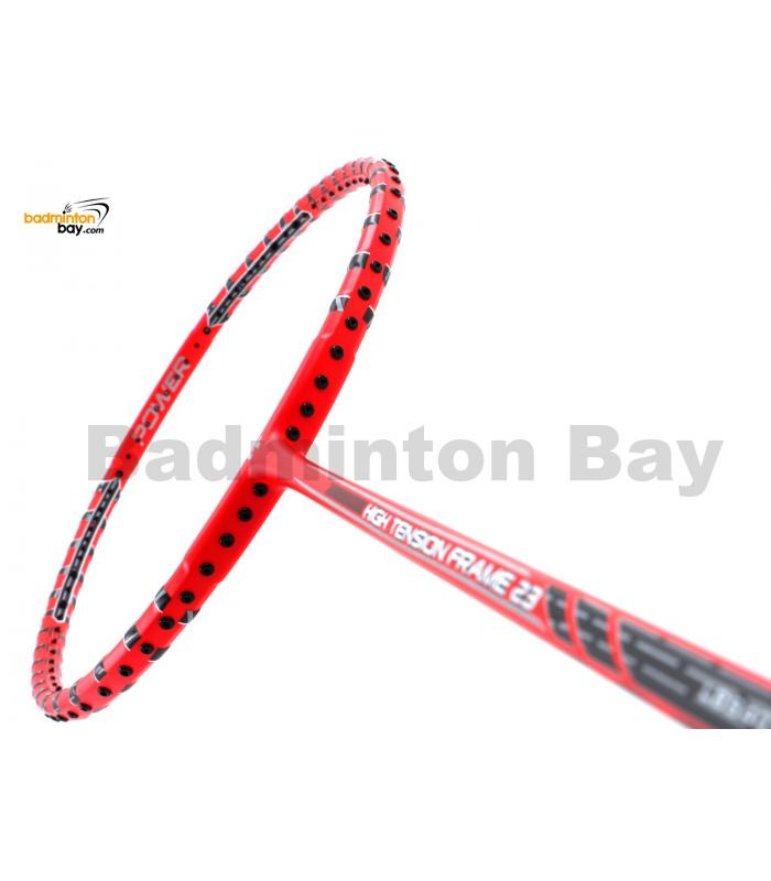 Felet High Tension Frame 23 Red With Black Stripes Badminton Racket (4U)