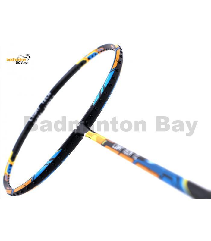 Felet Light Tech T1 Black Blue Yellow Badminton Racket (5U)