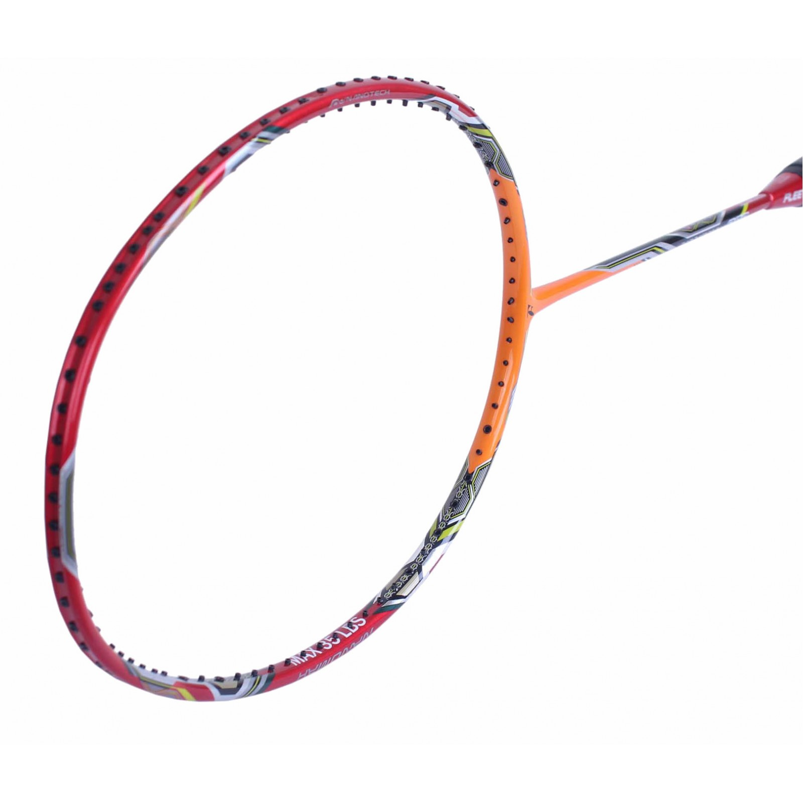 ~ Out of stock Fleet NanoMax 900 Orange Badminton Racket (3U)