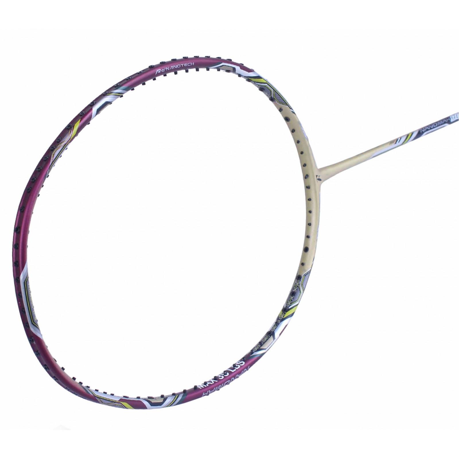 ~ Out of stock Fleet NanoMax 900 Gold Purple Badminton ...
