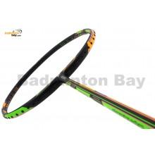 Fleet Offence Defence 10 Orange Green (Black) Badminton Racket (4U)