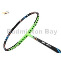 Fleet Power Light 20 Black Lime Green Badminton Racket (6U)