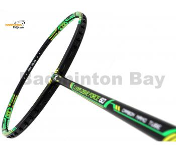 FELET TJ Explosive Force 60 Black Green Badminton Racket (4U)