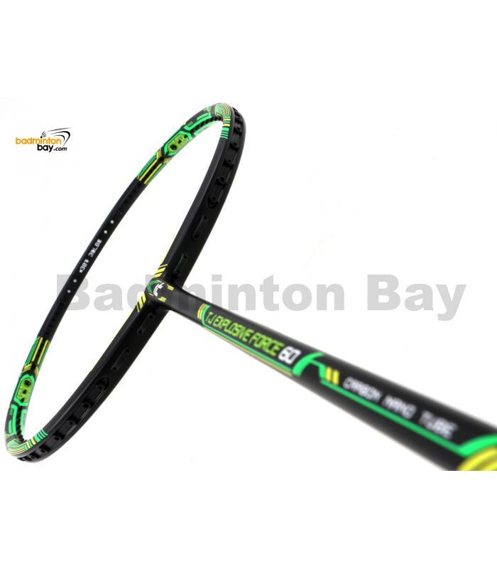 FELET TJ Explosive Force 60 Black Green Badminton Racket (4U)