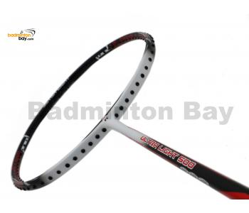 Fleet Ultra Light 500 Black White Badminton Racket (6U)