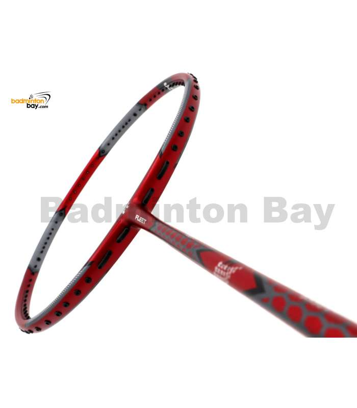 Fleet Volitant Force Red Badminton Racket (4U)