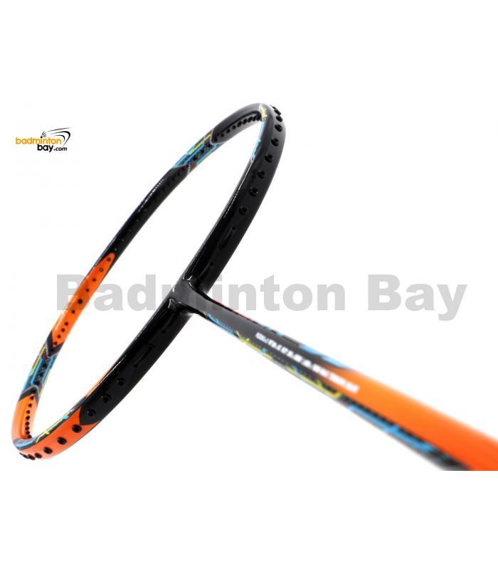 Flex Power Attack 99 Black Orange Badminton Racket (3U)