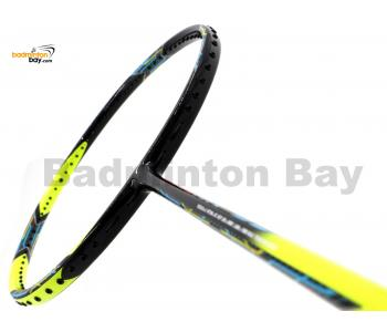 35% OFF Flex Power Attack 99 Black Yellow Badminton Racket (3U) With Slight Comestic Defect (Refer picture)