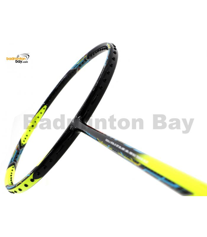 Flex Power Attack 99 Black Yellow Badminton Racket (3U)