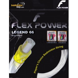 Flex Power Legend 66 (0.69mm) Badminton String