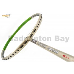 Flex Power Titanium Ti Dream Green Badminton Racket (5U)