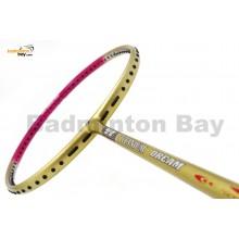 Flex Power Titanium Ti Dream Pink Badminton Racket (5U)