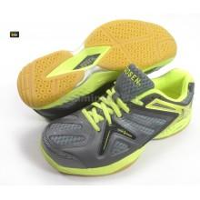 Gosen Japan Promaster 320 Grey Yellow Badminton Court Shoes