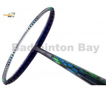 Li-Ning Mega Power Air Stream N99 Blue Silver Medal Edition Badminton Racket 3U (W3-S2)