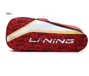 Li-Ning 2 Compartments Non-Thermal Badminton Racket Bag Red ABSM294-2