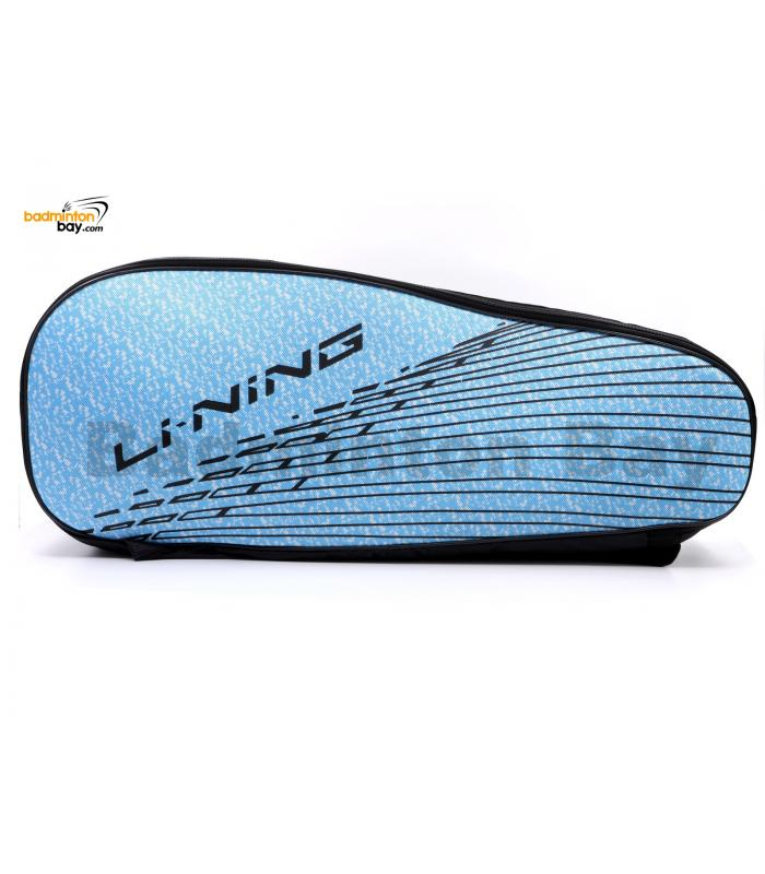 Li-Ning 2 Compartments Non-Thermal Badminton Racket Bag Light Blue ABSM296-1