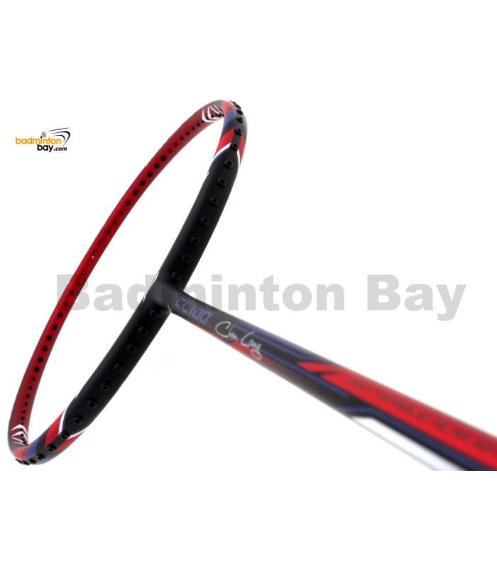 Li-Ning Chen Long CL 100 Black Red Badminton Racket 3U (W3-S2)