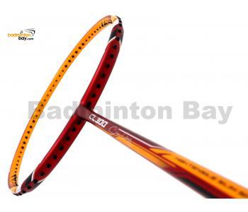 Li-Ning Chen Long CL 300 Red Yellow Badminton Racket 3U (W3-S2)