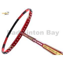 Li-Ning Pro Master Extra Strong G-Force 8000 Red Black Badminton Racket 4U (W3-S2)