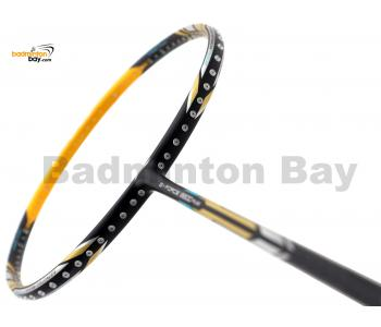 Li-Ning Pro Master Extra Strong G-Force 8800 Plus Black Yellow Badminton Racket 4U (W3-S1)