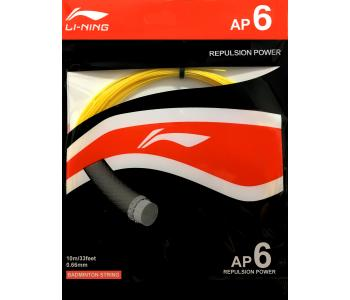 Li-Ning AP6 (0.66mm) Badminton String Repulsion Power