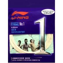 Li-Ning No.1 (0.65mm) Badminton String High Repulsion Power